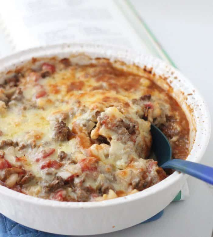 Beef and Hominy Casserole