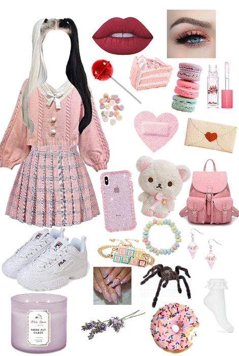 Melanie Martinez K 12 Outfit Shoplook Melanie Martinez Outfits Melanie Martinez Style Aesthetic Clothes