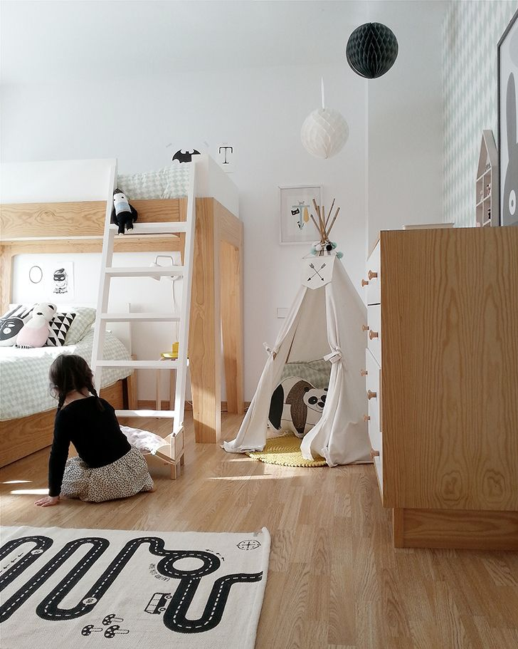 2 Amazing Scandinavian Style Kids Rooms Petit Small Cool Kids Bedrooms Scandinavian Kids Rooms Kids Room Design