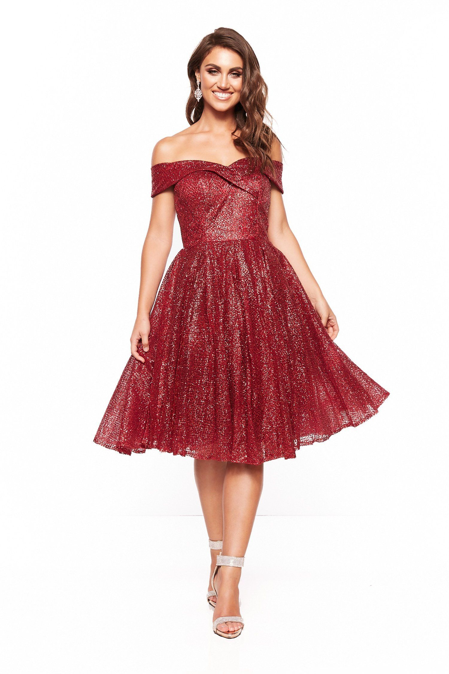 Red Glitter Cocktail Dress Cocktail Dress Red Cocktail Dress Dresses [ 2249 x 1500 Pixel ]