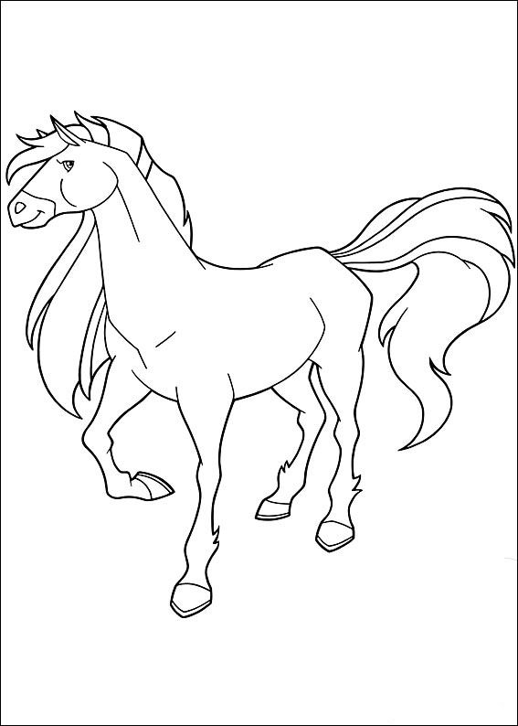 Coloriage Dessins. Horseland 4 | Mes coloriages 1 | Pinterest