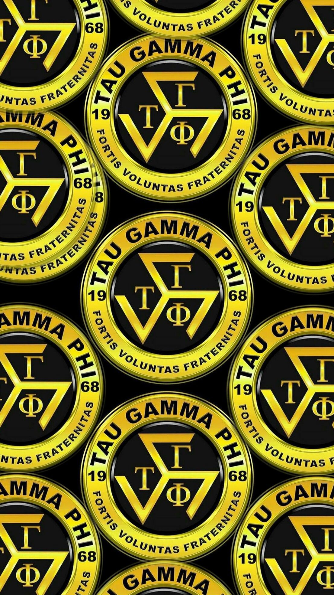 Triskelion Tau Gamma Wallpaper Gold 50 Android Iphone Gamma Tau Gamma Tau