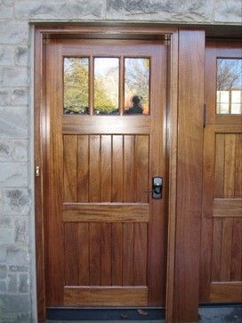 Houzz Exterior Doors | Cedar Entry Doors Design Ideas, Pictures, Remodel,  And Decor