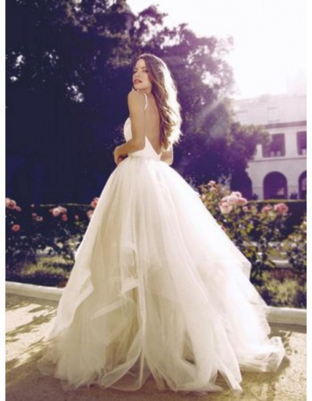 Ball gown wedding dress with bling   Most Beautiful White Wedding Dress Ball Gown Ideas For The