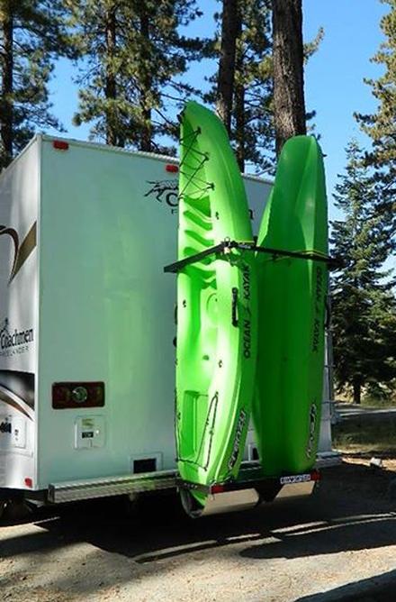 The Original Vertical Rv Kayak Racks Made In The Usa Rv Kayak