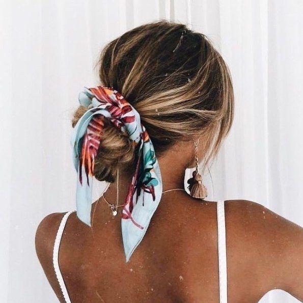 Photo of 25 Ideen zum Tragen von Haarschals – Seien Sie modisch