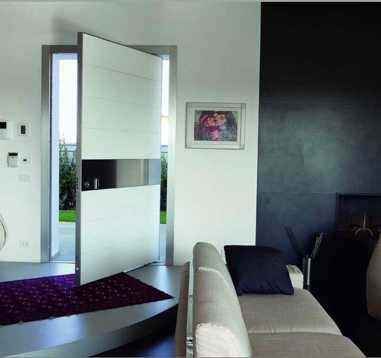 تصويري واجهات ابواب ديكور مطابخ المنيوم الكويت السعوديه قطر بحرين ابداعات Modern Entry Door Contemporary Front Doors Modern Exterior Doors