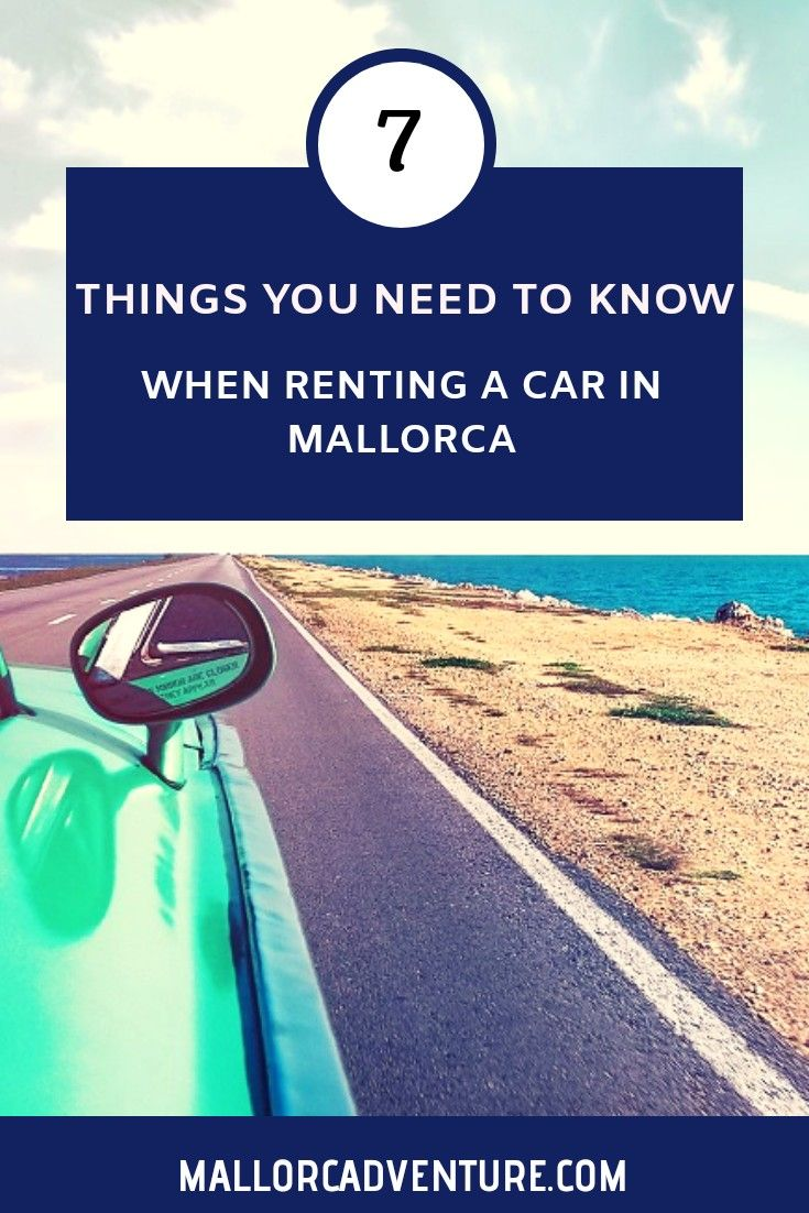 Rent a Car in Mallorca StressFree and Responsible (avec