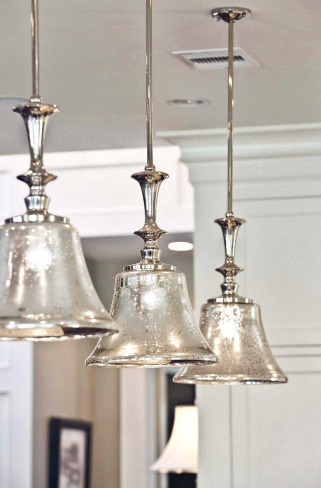 Mercury Glass Pendant Light Fixtures   lighting ...