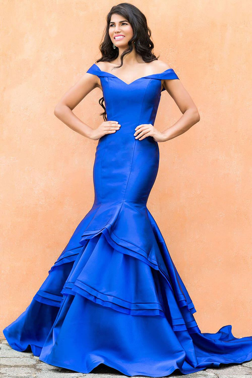 Orchid Prom Dress By Jovani- This fitted, off the shoulder mermaid ...