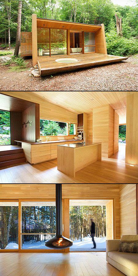 Impresionantes casas que piensan fuera de la caja casas for Casas prefabricadas pequenas