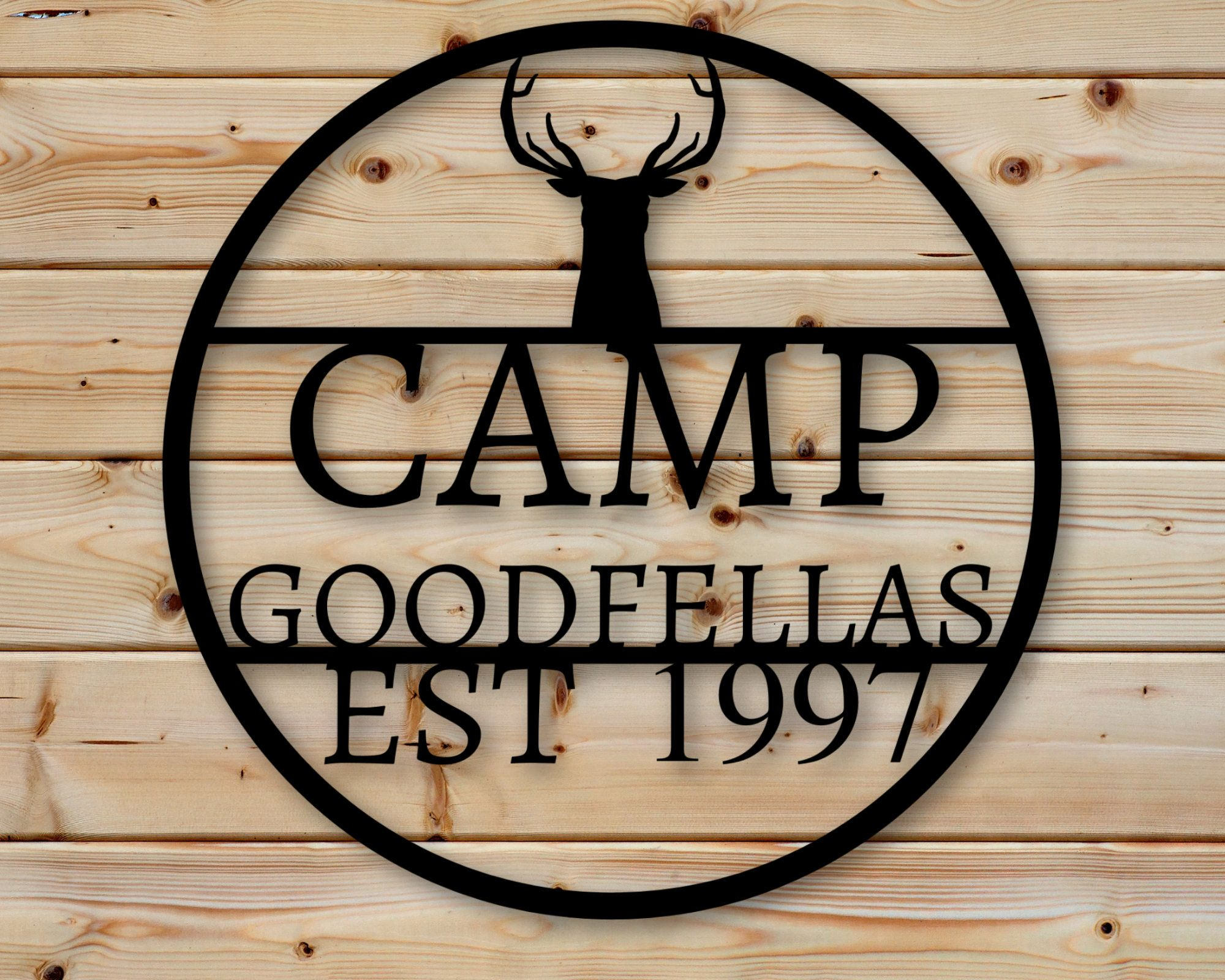 personalized sign, camp decor, custom sign, office, outdoors, gift for dad, gift for him, gift for her, custom metal camp sign, sign