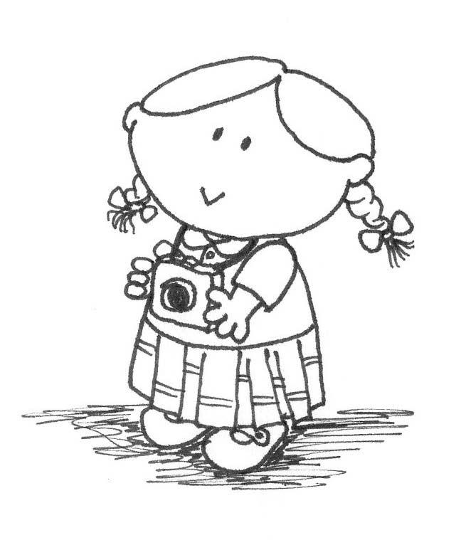 Dibujos De Personas Para Colorear Dibujos De Personas Siluetas De Personas Dibujos Para Colorear