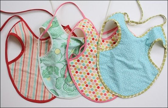 13 Great Baby Items and Gear to Make Yourself | Bibs, Apron and Pdf