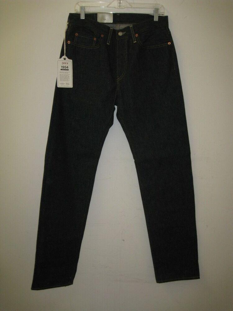675fb33d LVC Levi's Vintage Clothing 1954 501 ZXX Selvedge Jeans RIGID USA 32 ...