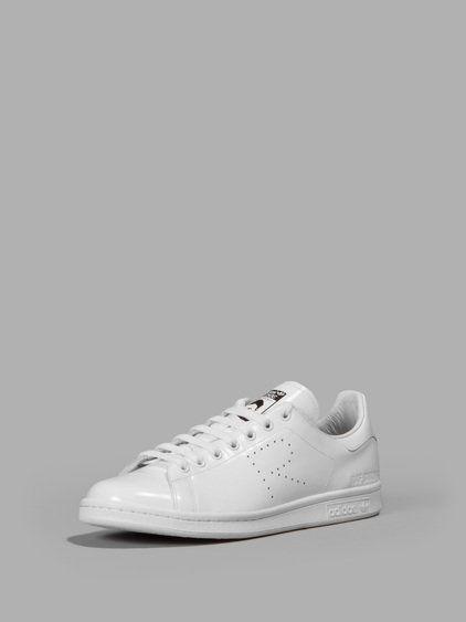 sports shoes 8d54a d6fff RAF SIMONS RAF SIMONS X ADIDAS MEN S WHITE STAN SMITH SNEAKERS.  rafsimons   shoes