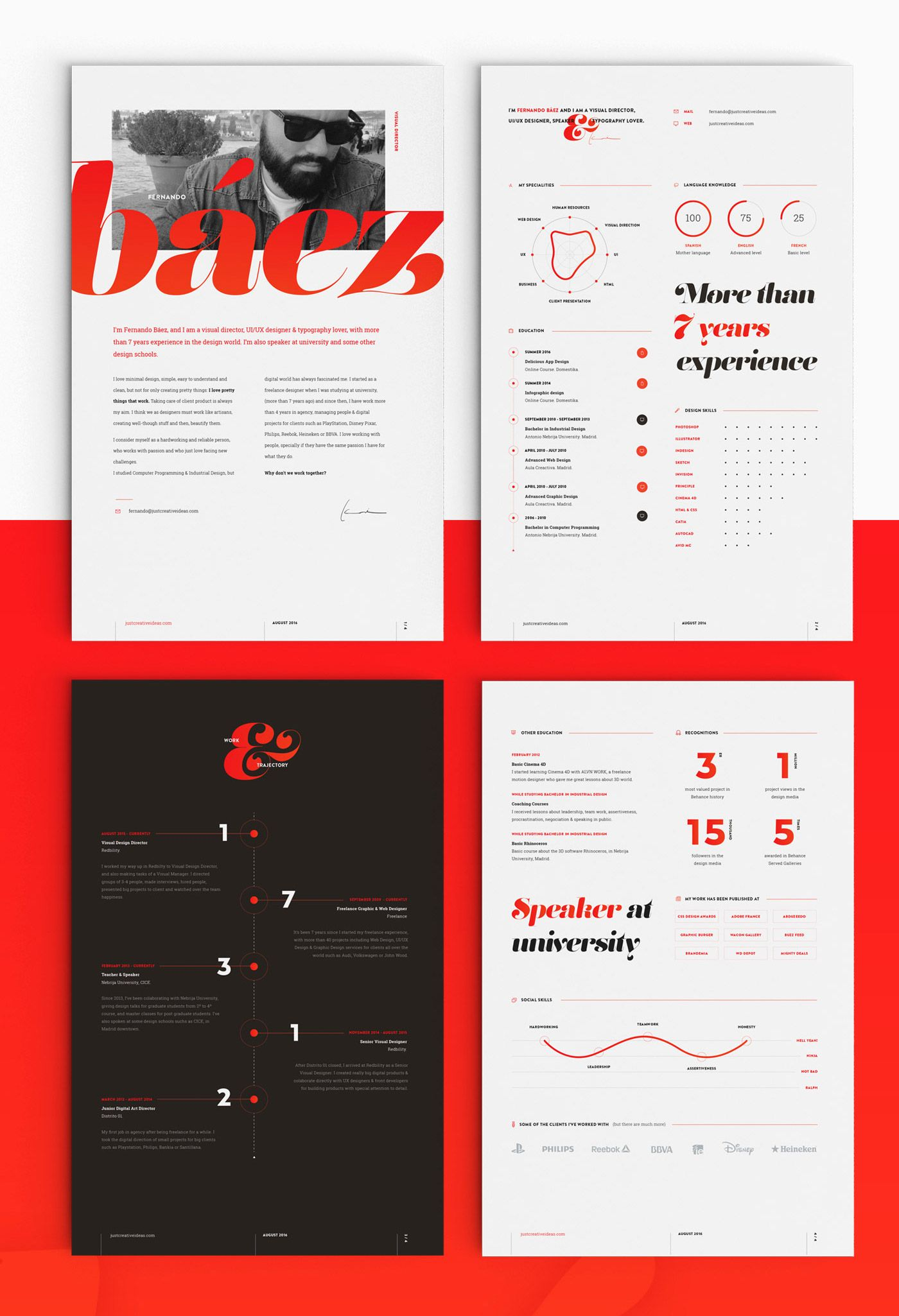 12+ Creative Resume Examples, Templates & Ideas Daily