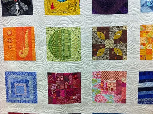 Look at that quilting!!