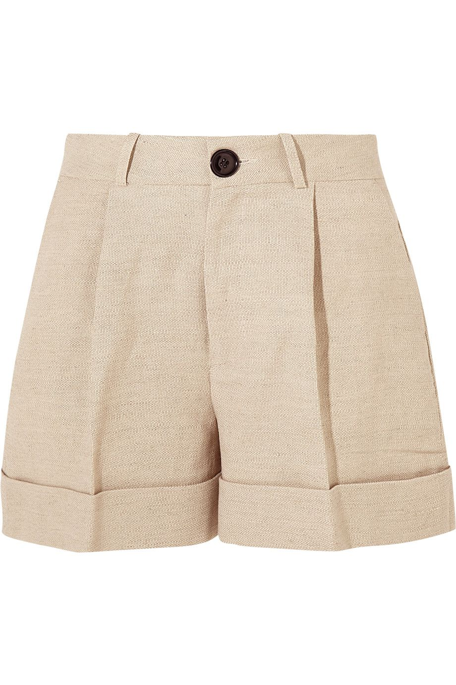Shop on-sale Totême Tanzania linen and cotton-blend shorts. Browse other discount designer Shorts & more on The Most Fashionable Fashion Outlet, THE OUTNET.COM
