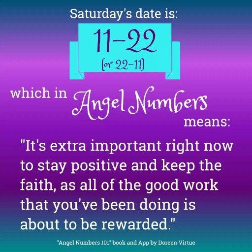 11-22 or 22-11 Angel Numbers
