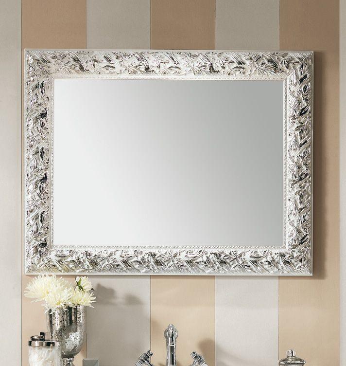 Eban spiegel olivia glas und holz im angebot auf for Badezimmermobel im angebot