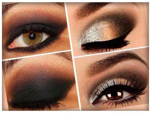 glamurosos ojos dorados - Buscar con Google bacan Pinterest