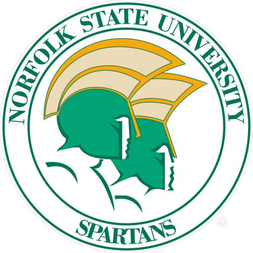 norfolk state spartans logo nsu pinterest college