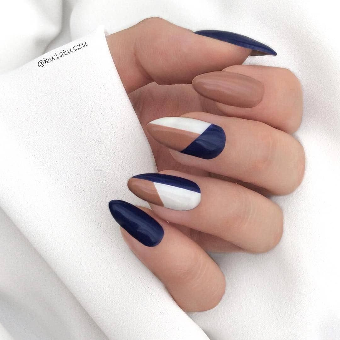 Easy Classic Prosty French Manicure Squoval Nails Minimalist