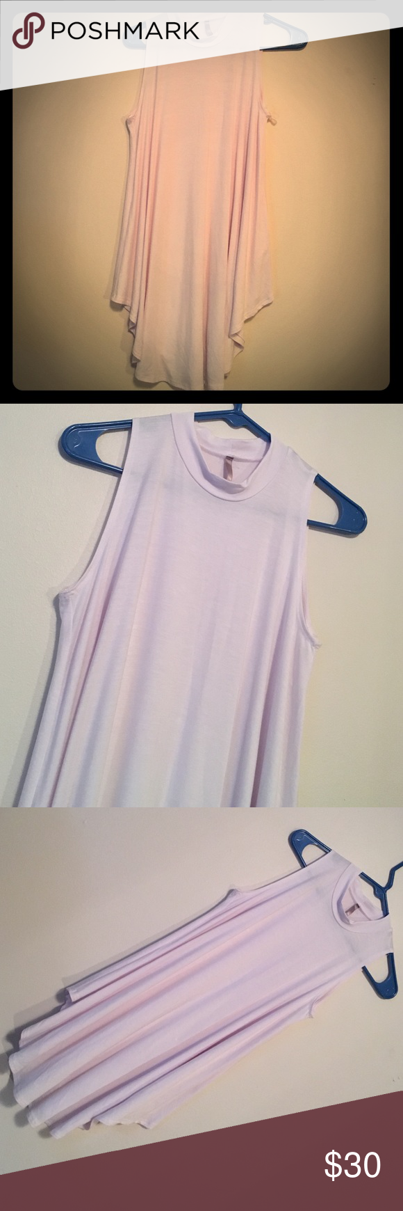 Never worn long tank- flowy *no trades *reasonable offers considered *next day shipping 12 am Tops Tank Tops
