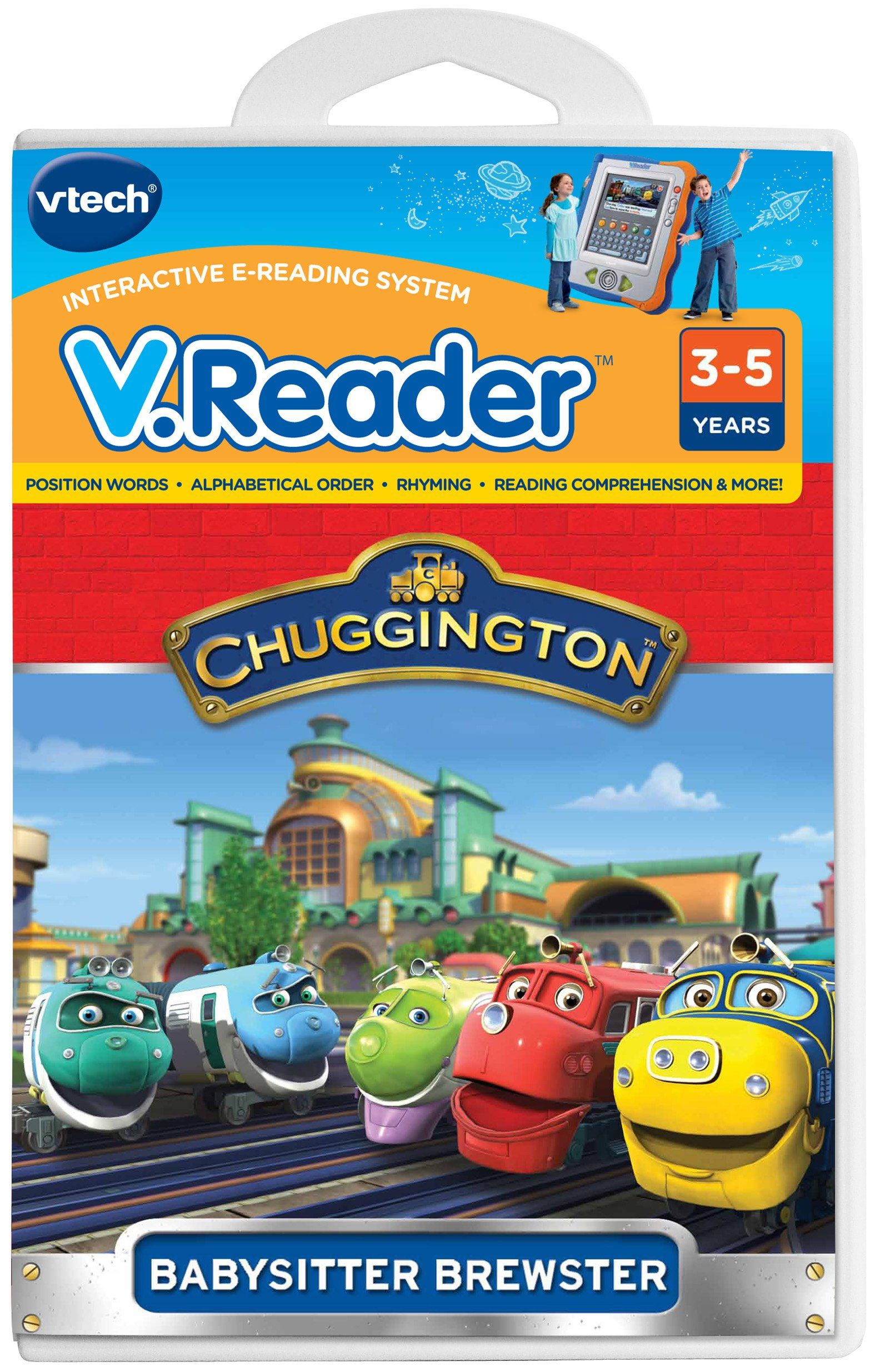 Amazon.com: VTech - V.Reader Software - Chuggington: Toys & Games ...