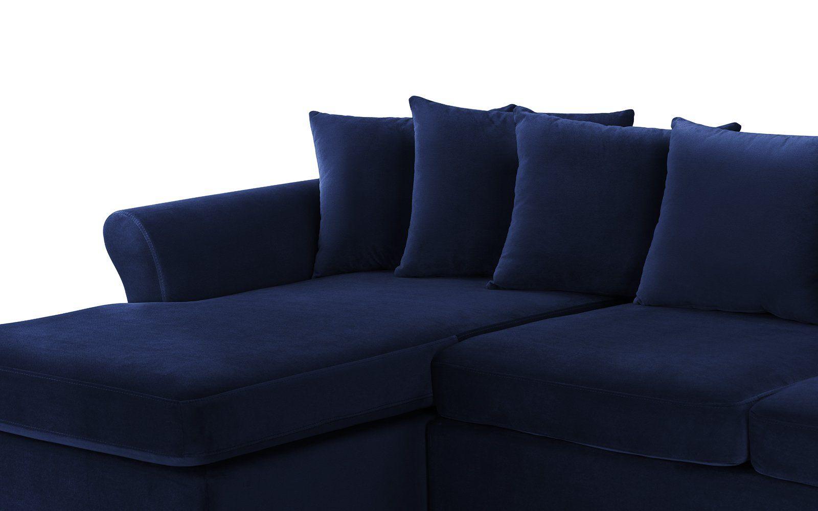 Swell Arendal Classic Victorian Inspired Velvet Sectional Sofa Short Links Chair Design For Home Short Linksinfo
