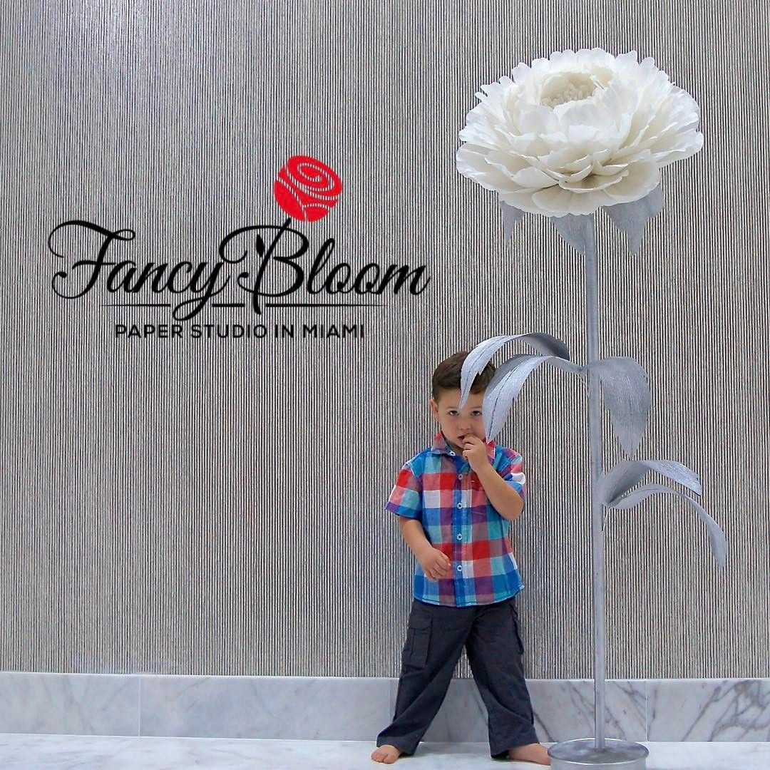 Pin by FancyBloom  Paper Flower Backdrops for wedding decoration