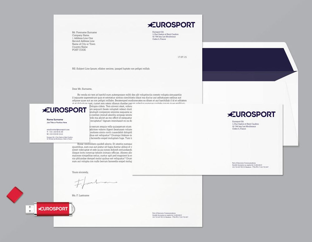 Reviewed: New Logo, Identity, and On-air Look for Eurosport by Pentagram and DixonBaxi