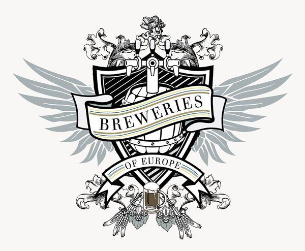 Breweries of Europe Crest Logo