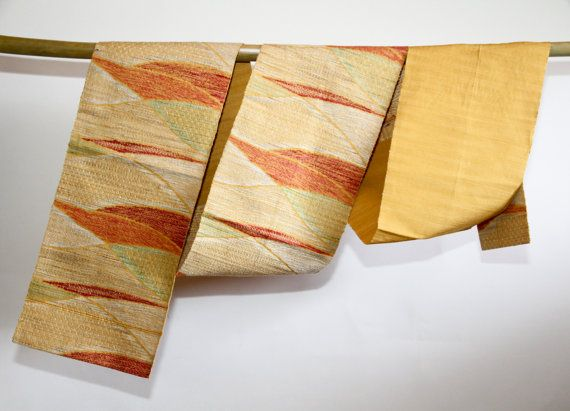 Woven Art. Authentic Japanese Vintage Obi by CJSTonbo on Etsy, $49.00