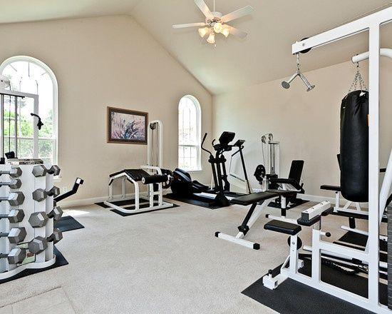 Home Gym Design Ideas Games \ Activities Pinterest - ideen heim fitnessstudio einrichten
