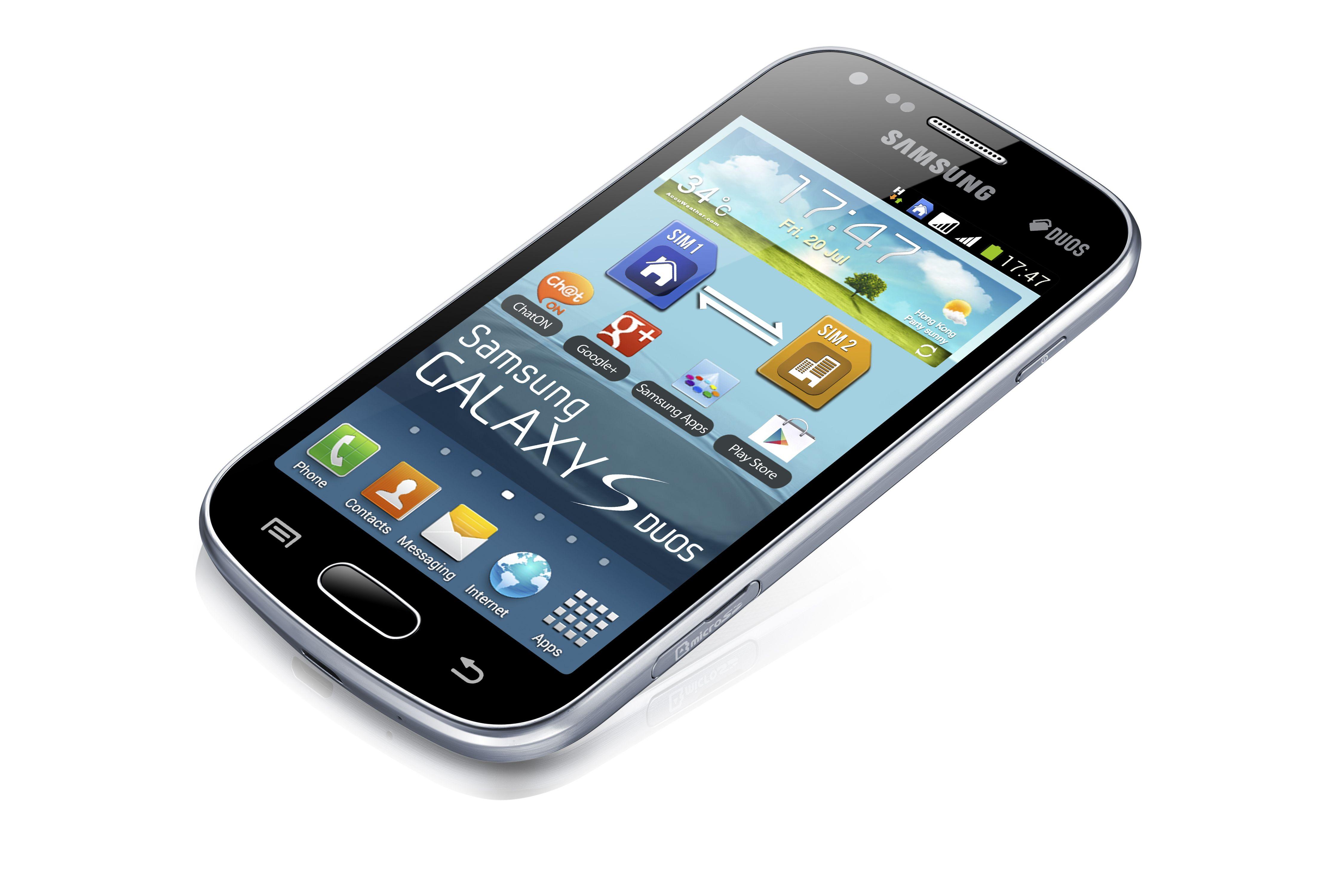 Samsung galaxy s duos smartphone