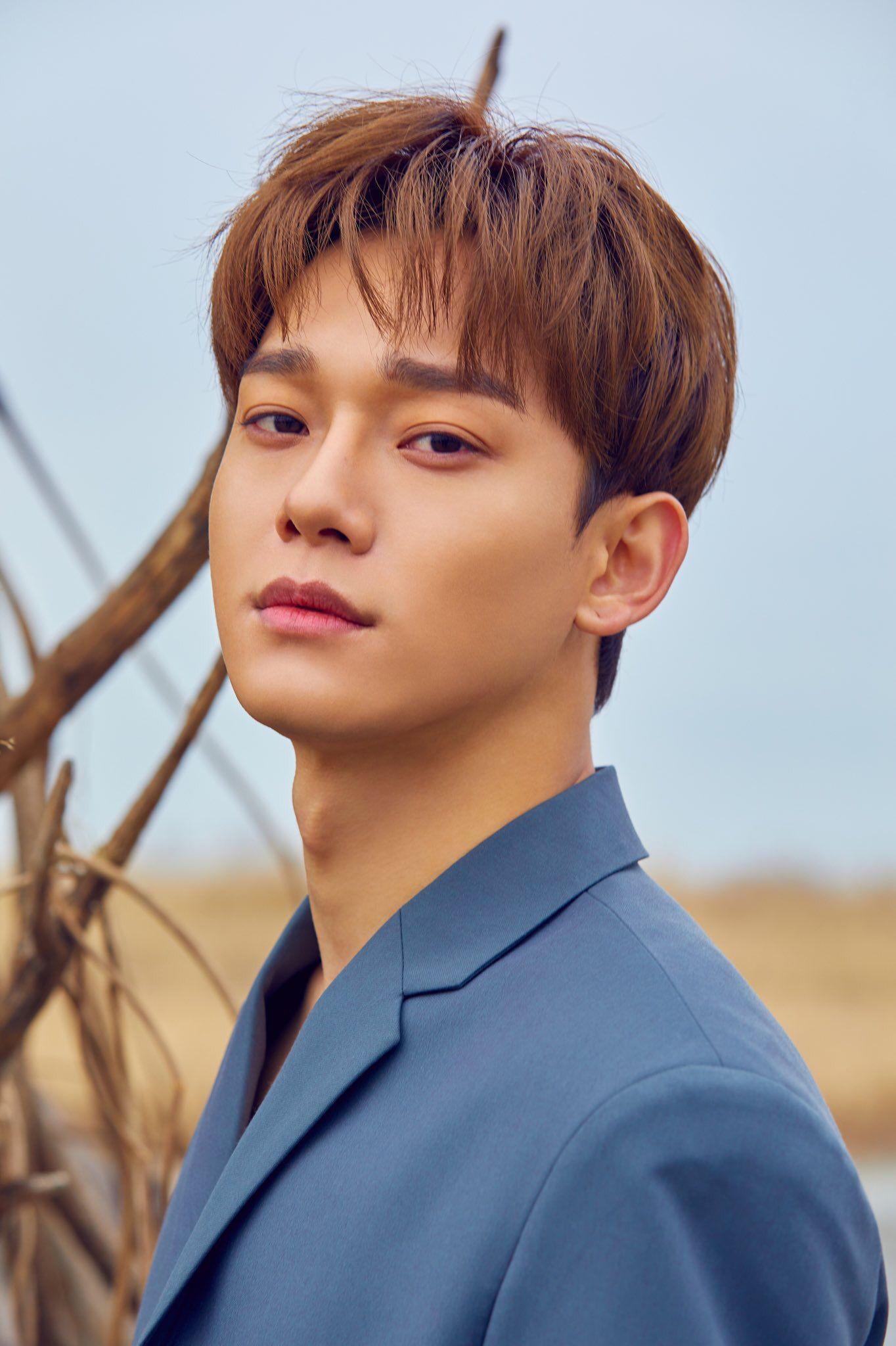 첸 CHEN The 1st Mini Album '사월, 그리고 꽃 (April, and a flower)'