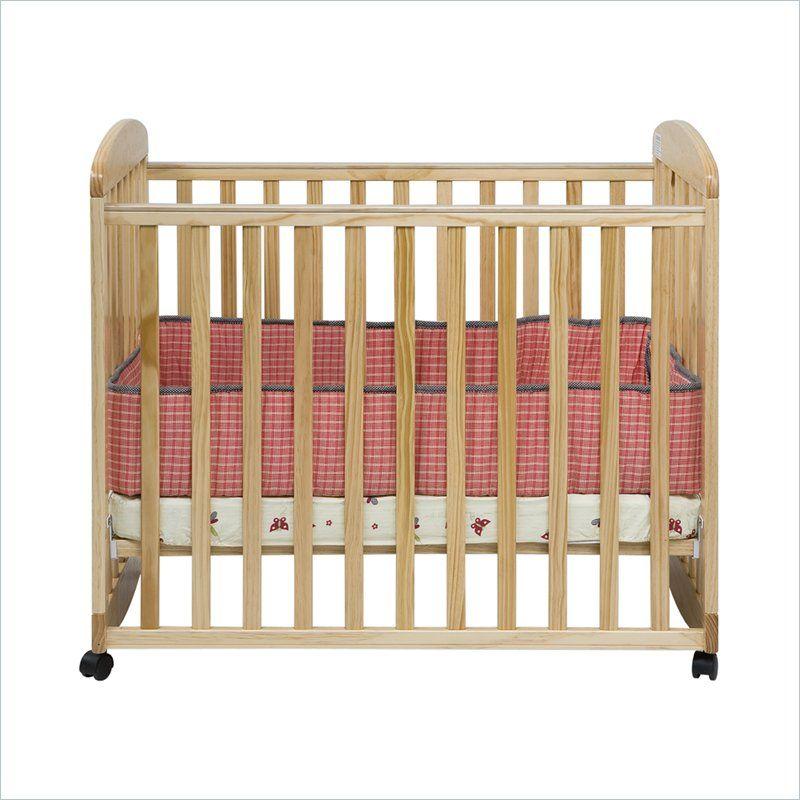 Da Vinci Alpha Mini Rocking Crib In Natural Finish   Cribs ...