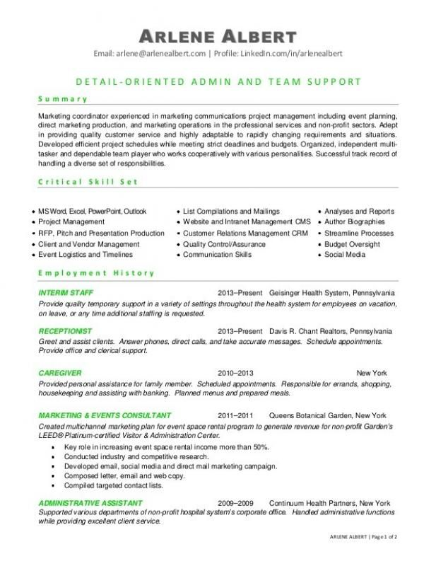 Microsoft Word Template Resume Check more at