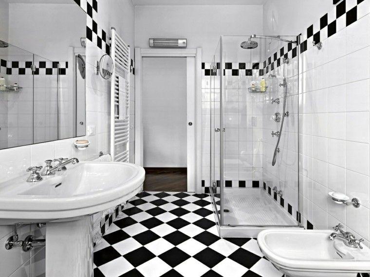 Cuartos de baño con ducha y bañera muy singulares Baño moderno
