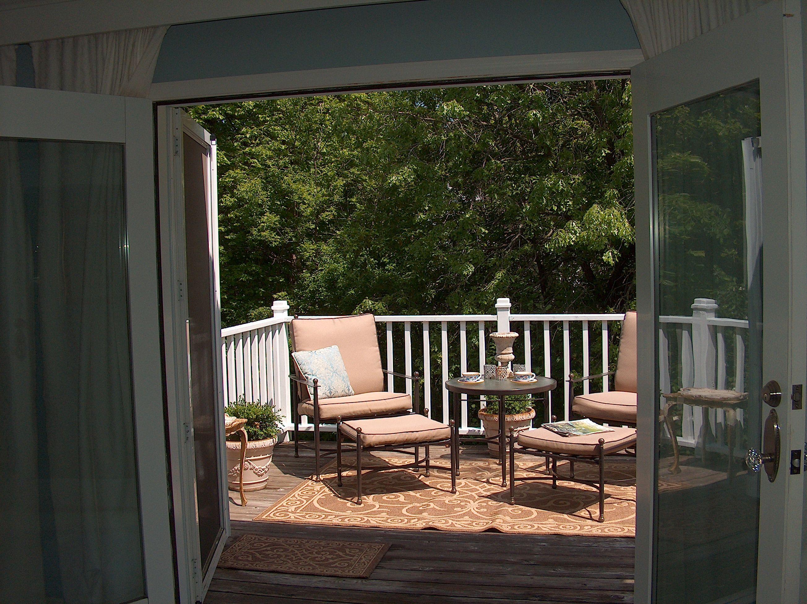 Deck Off Master Bedroom Bedroom Balcony Balcony Decor Small