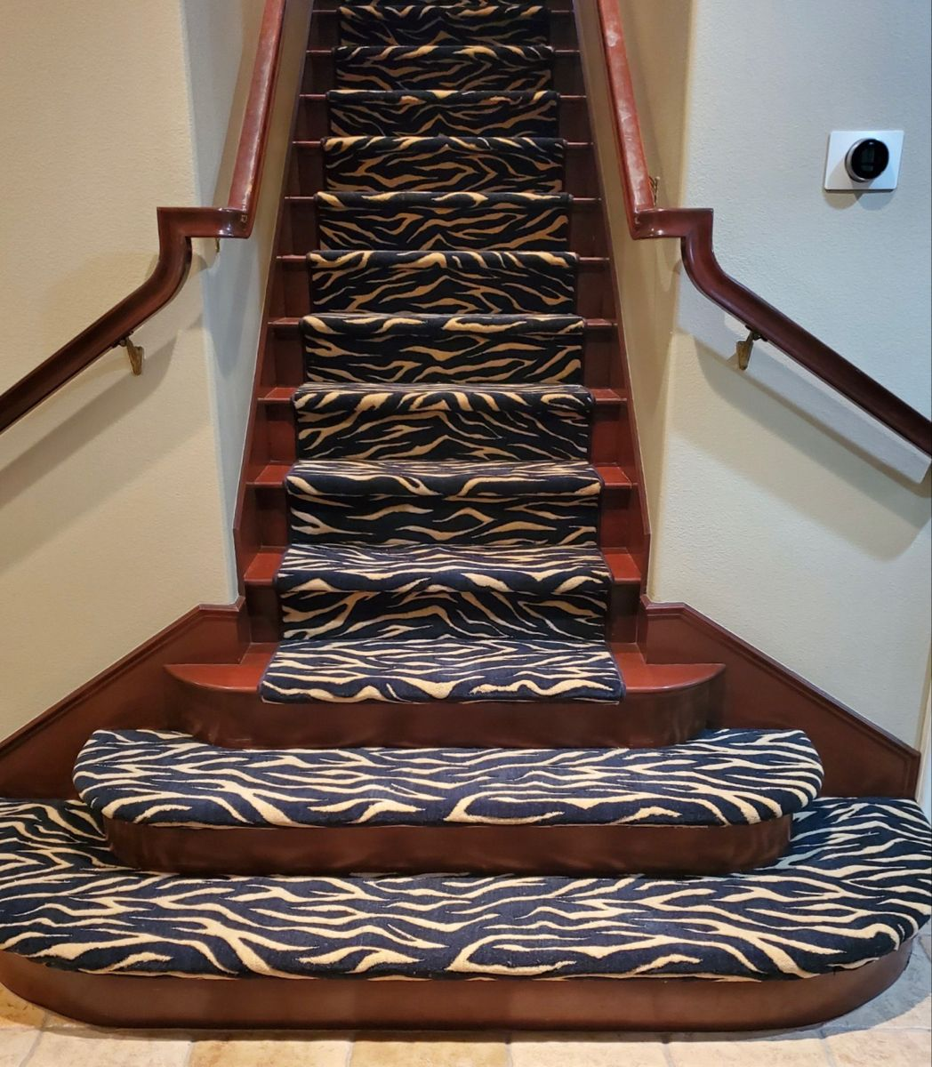 Best Nourison Urban Tiger Carpet Fabricated Into A Stair Runner 400 x 300