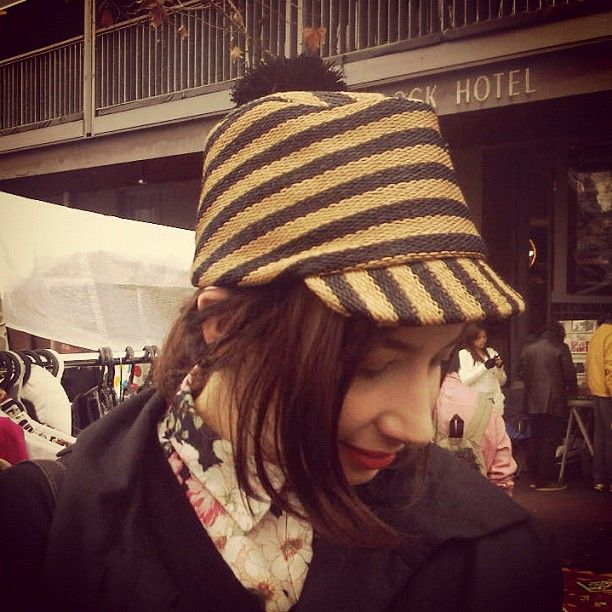 Am in love with @animalorchestra 's new #Burberry hat!