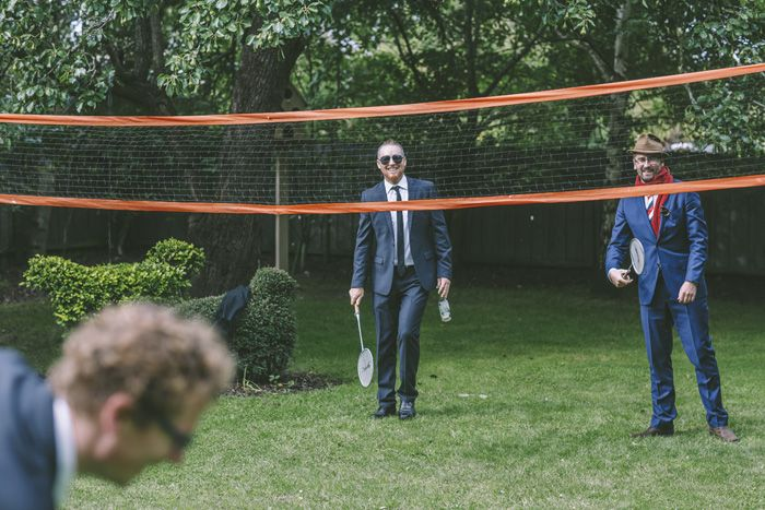 Wedding lawn game idea | i take you