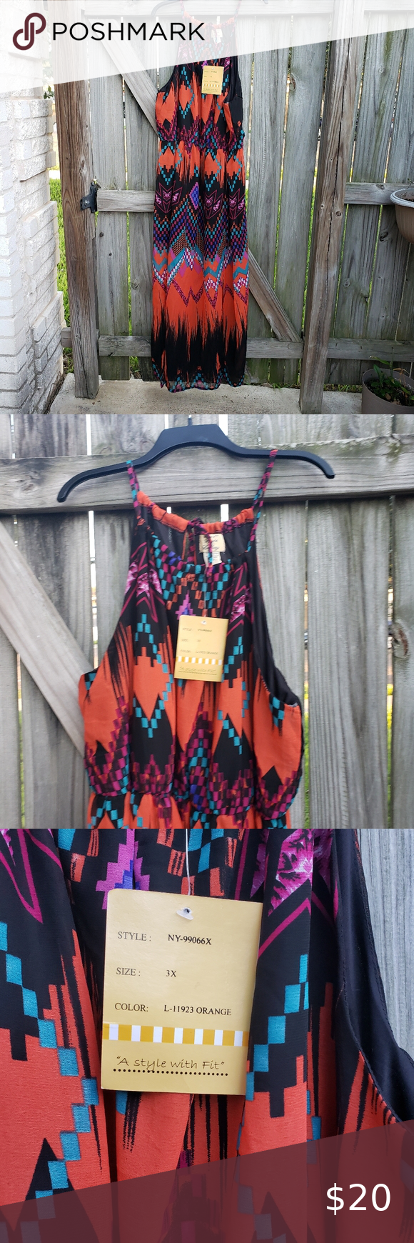 Nwt Very Pretty And Colorful Maxi Dress 3x Colorful Maxi Dress Colorful Maxi Pretty Maxi Dress [ 1740 x 580 Pixel ]