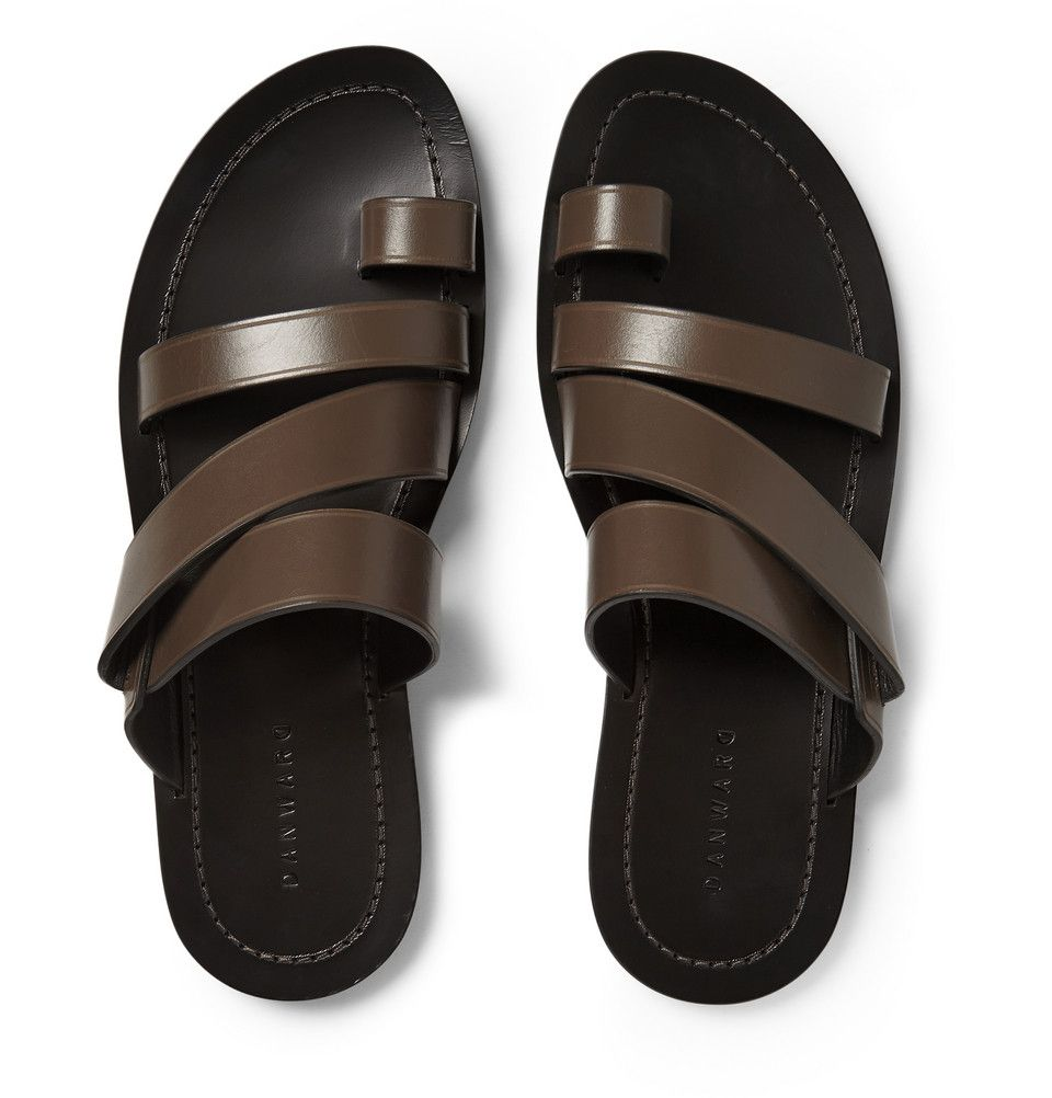 Dan Ward - Multi-Strap Leather Sandals  Mr Porter  Mens -8424