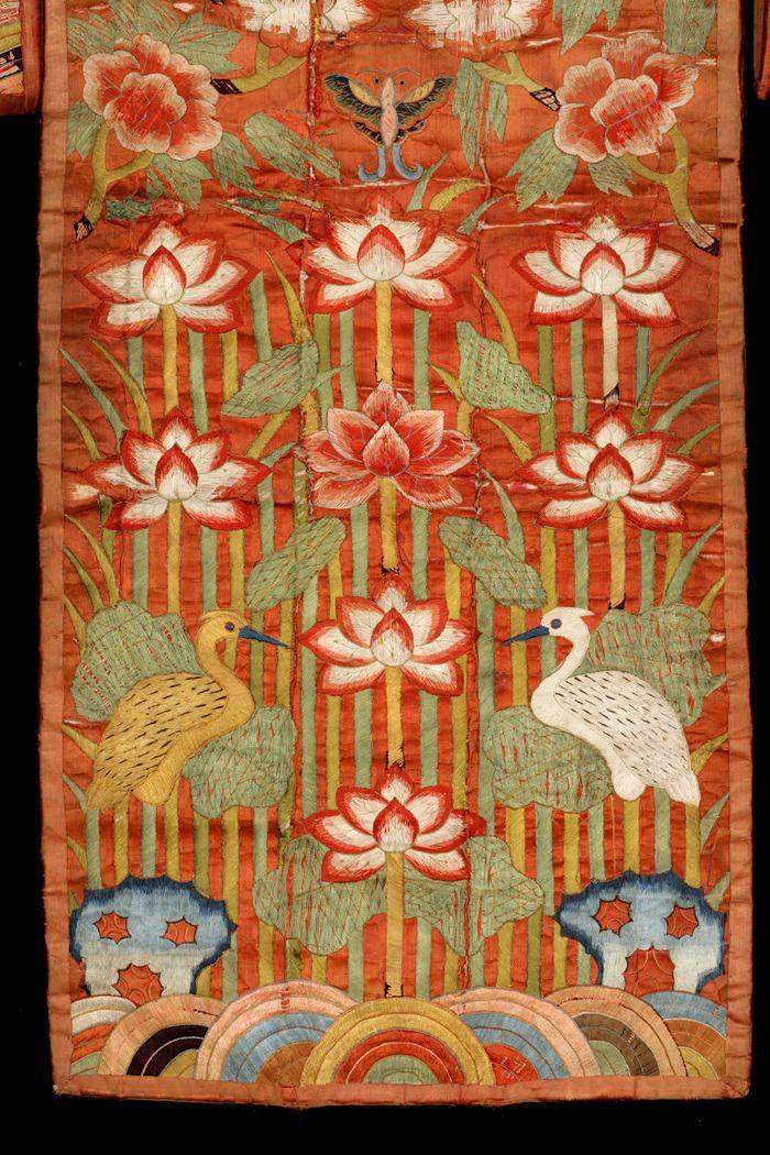 Non Western Historical Fashion Hwarot Late Joseon Dynasty Korea Virtual Korean Art Art Quilts Antique Textiles