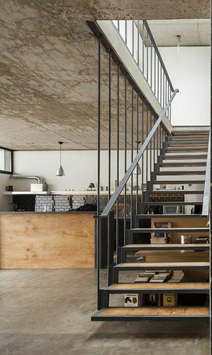Les ateliers et lofts une demeure moderne atelier design et loft - Appartement style industriel ...