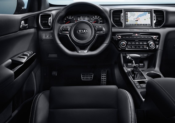 2019 Kia Sportage interior | NewAutoReport | Pinterest | Kia ...